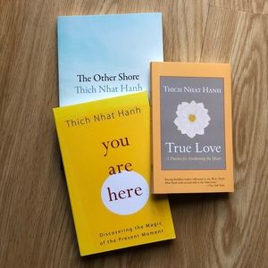 THICH NHAT HANH Buddhist Philosophy Book Bundle